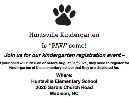 Join us for Kindergarten Registration