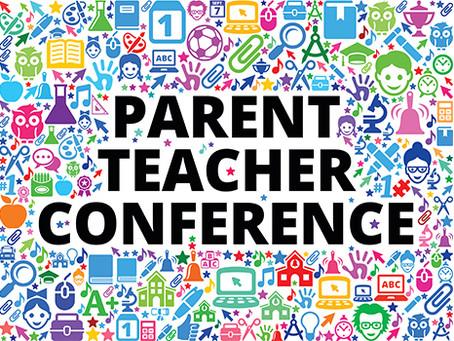 Parent Conference Weeks--October 19-November 24