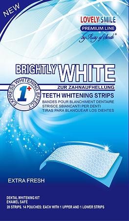 Lovely Smile Teeth Whitening Strips Fron