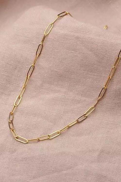 16 inch link chain necklace