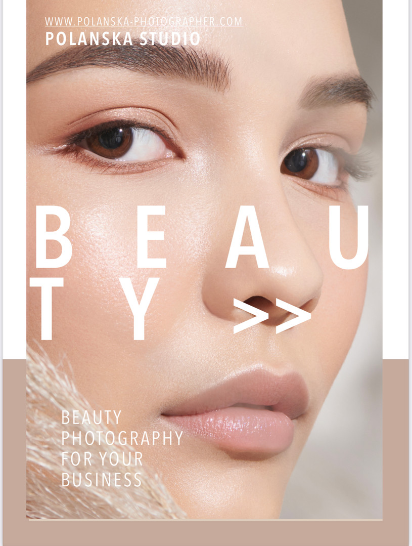 sydney beauty photographer for skin care
