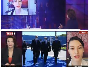 Kader Sevinç TELE1'de NATO Zirvesi'ni Değerlendirdi