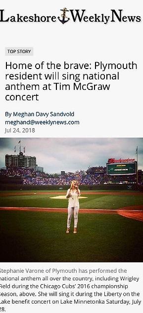 Folds of Honor Tim Mcgraw SW News Media