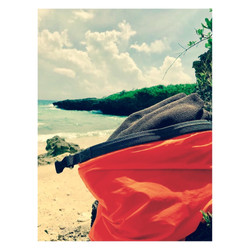ビーチ用タオル