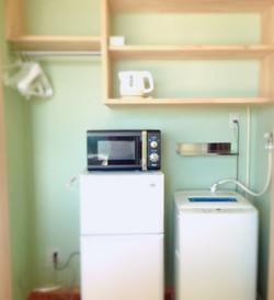 冷蔵庫も洗濯機も