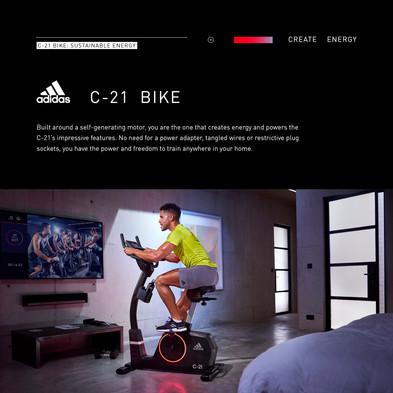 adidas C-21 Bike Sustainable Energy