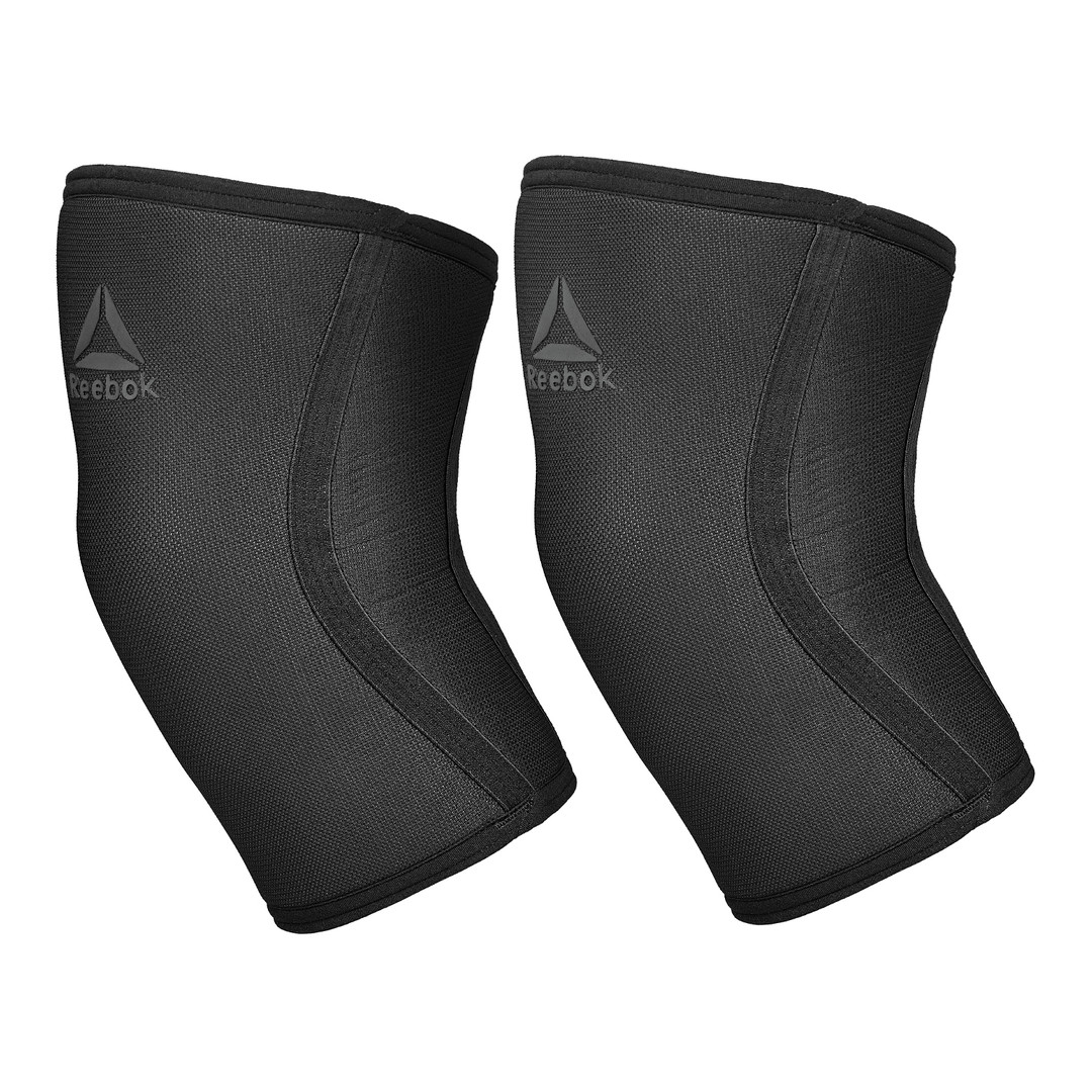 Black Reebok Knee Support Sleeves