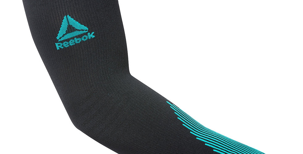 Reebok running knitted compression arm sleeves