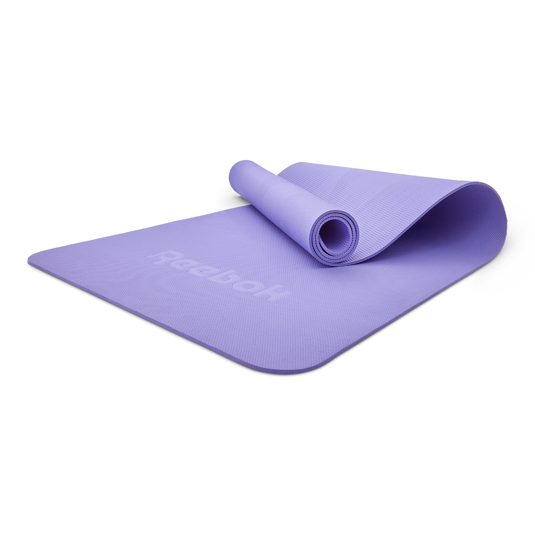 Reebok 5mm purple yoga mat