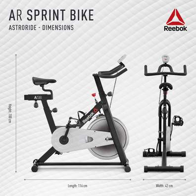 Reebok AR Sprint Bike Dimensions