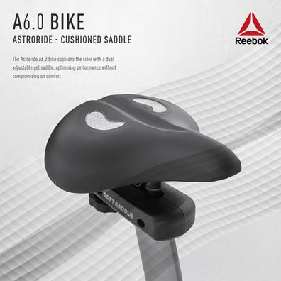 Reebok A6.0 Bike Saddle Cushioning