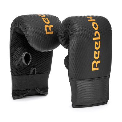 Reebok Black and Gold Boxing Mitts