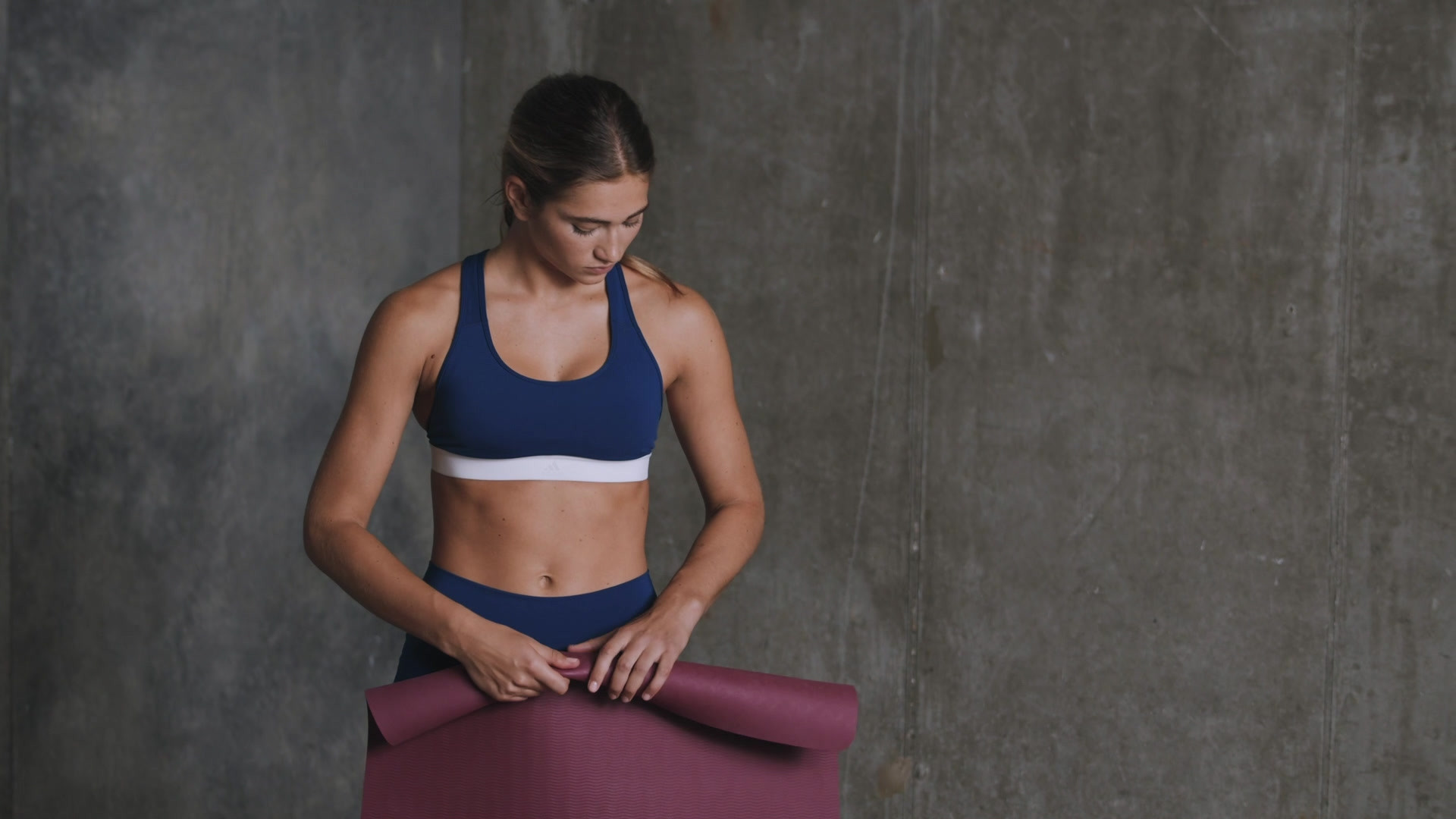 adidas 5 mm Premium Yoga Mat Mystery Ruby