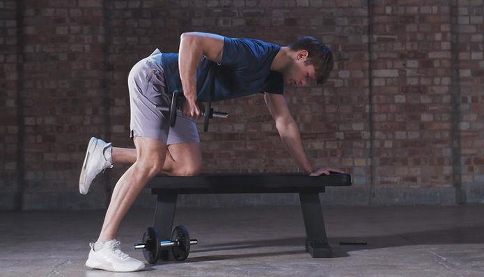adidas Flat Bench Bench Press Workout