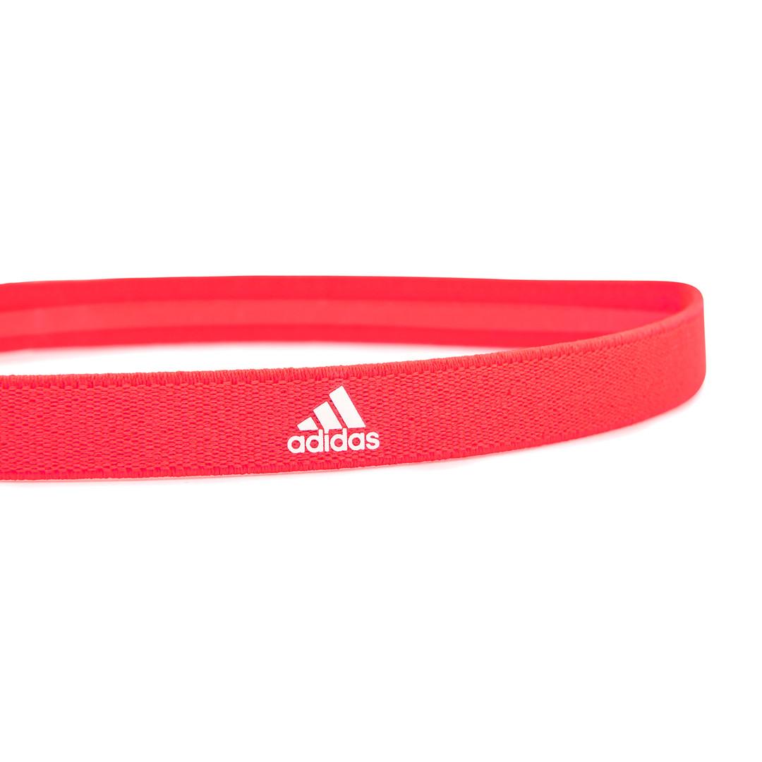 adidas solar red sports hairband
