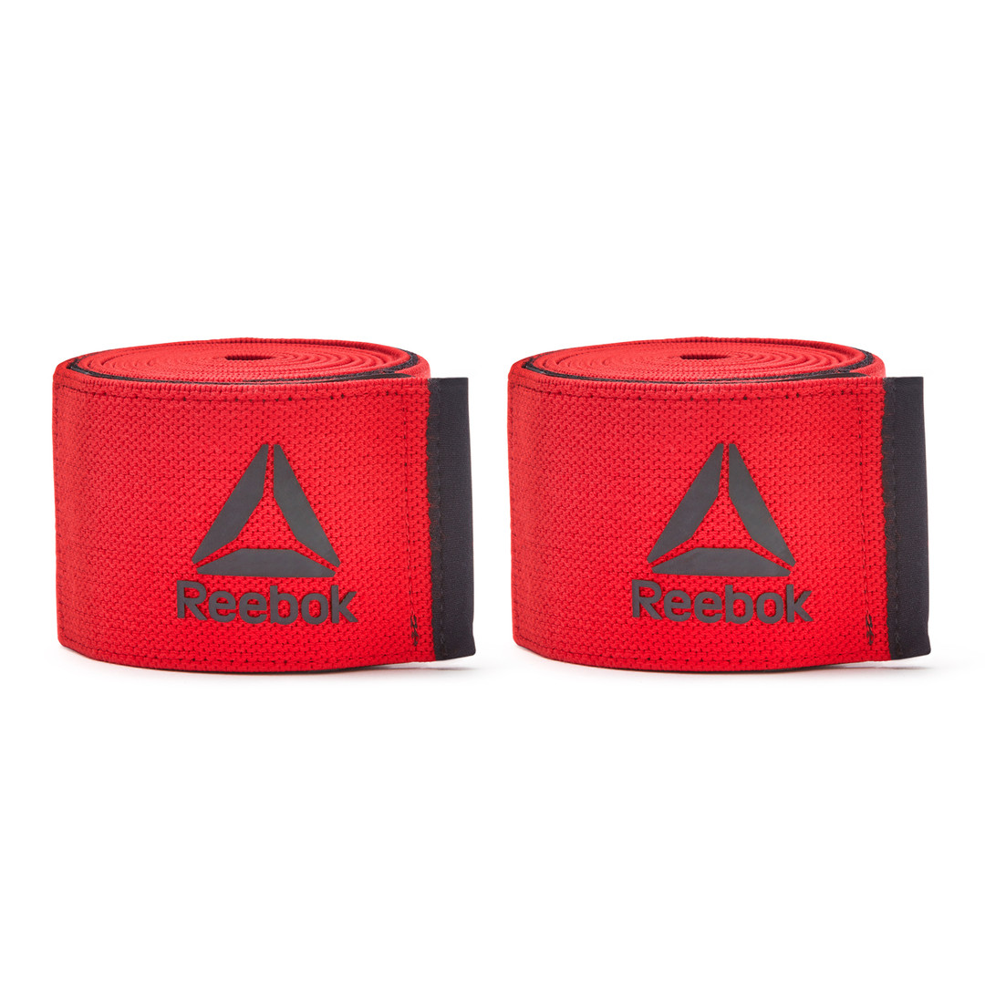 Reebok Training Red Knee Wraps