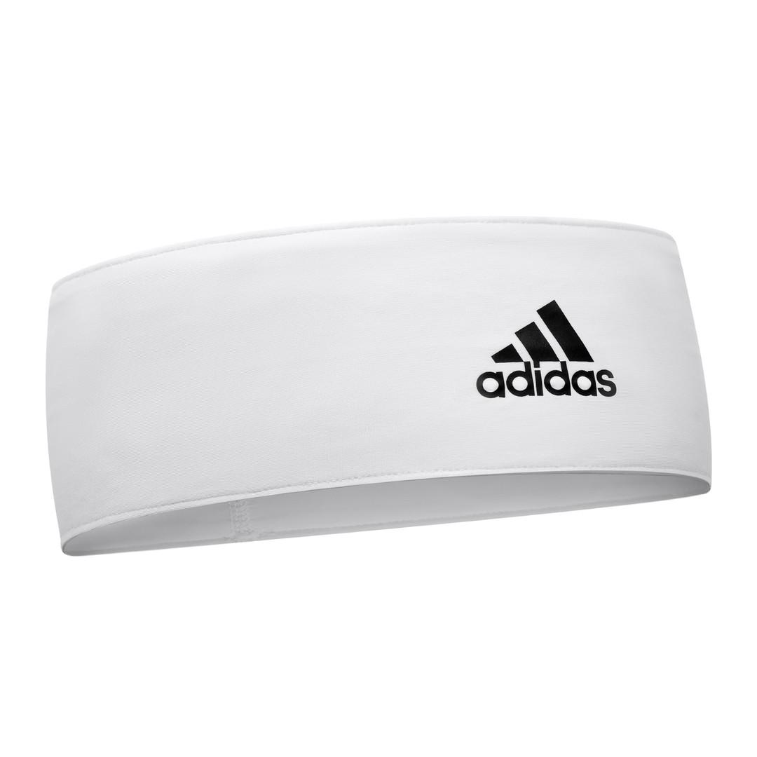 White adidas Training Headband