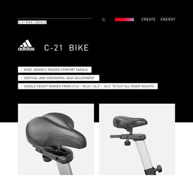adidas C-21 Bike Saddle