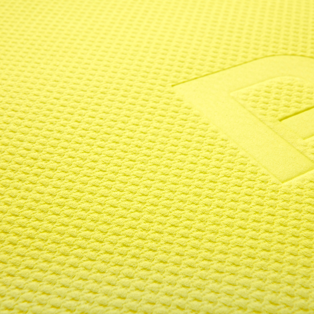 Reebok 5mm yellow yoga mat