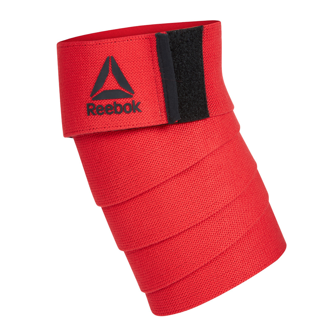 Reebok Training Red Knee Support Wraps