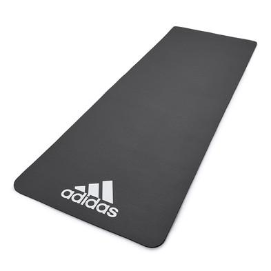 adidas black fitness mat
