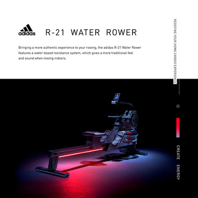 adidas R-21 Water Rower Intro