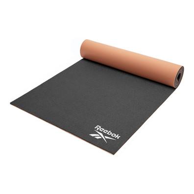 Reebok 6mm black and coral yoga mat