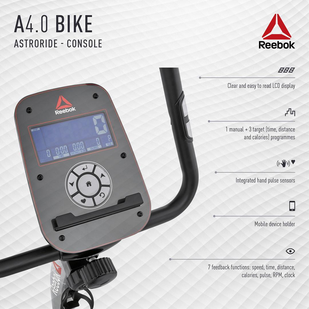 Reebok A4.0 Bike Console