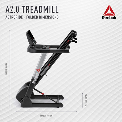 A2.0 Treadmill Folded Treadmill