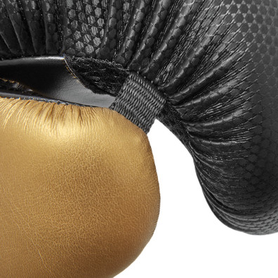 Reebok Black and Gold Boxing Gloves