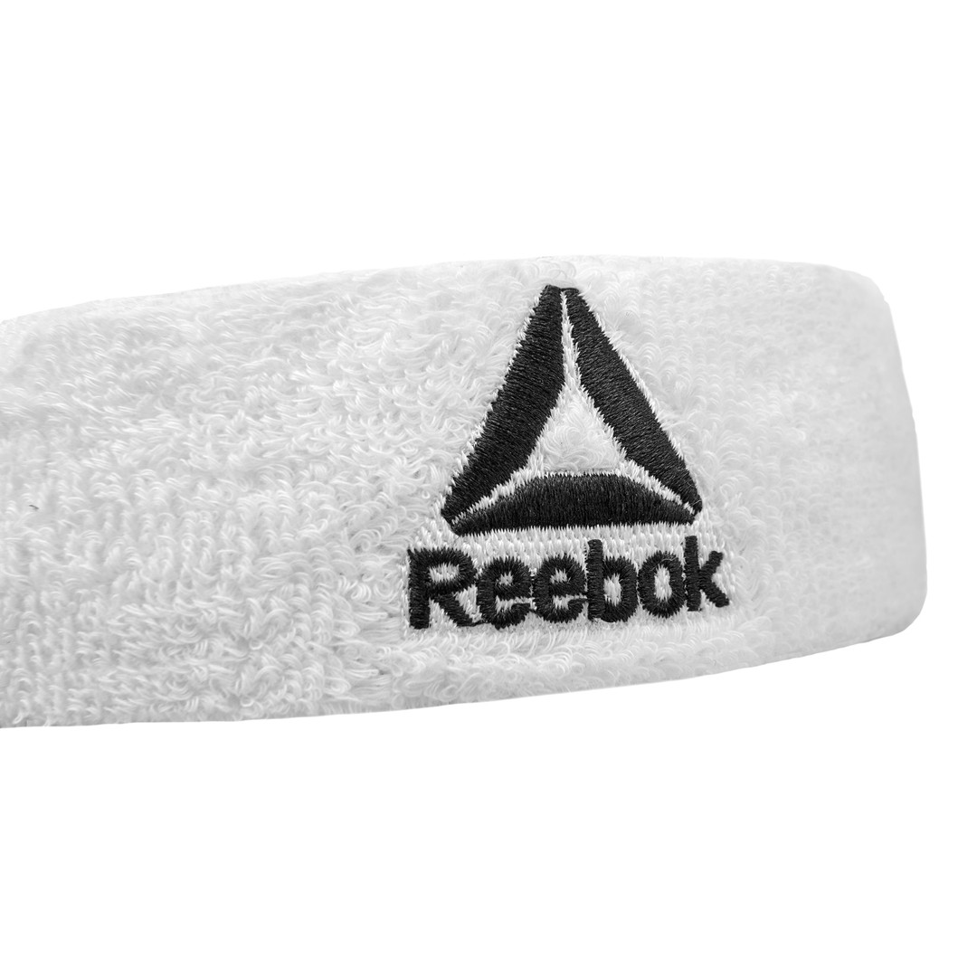 White Reebok Sweatband