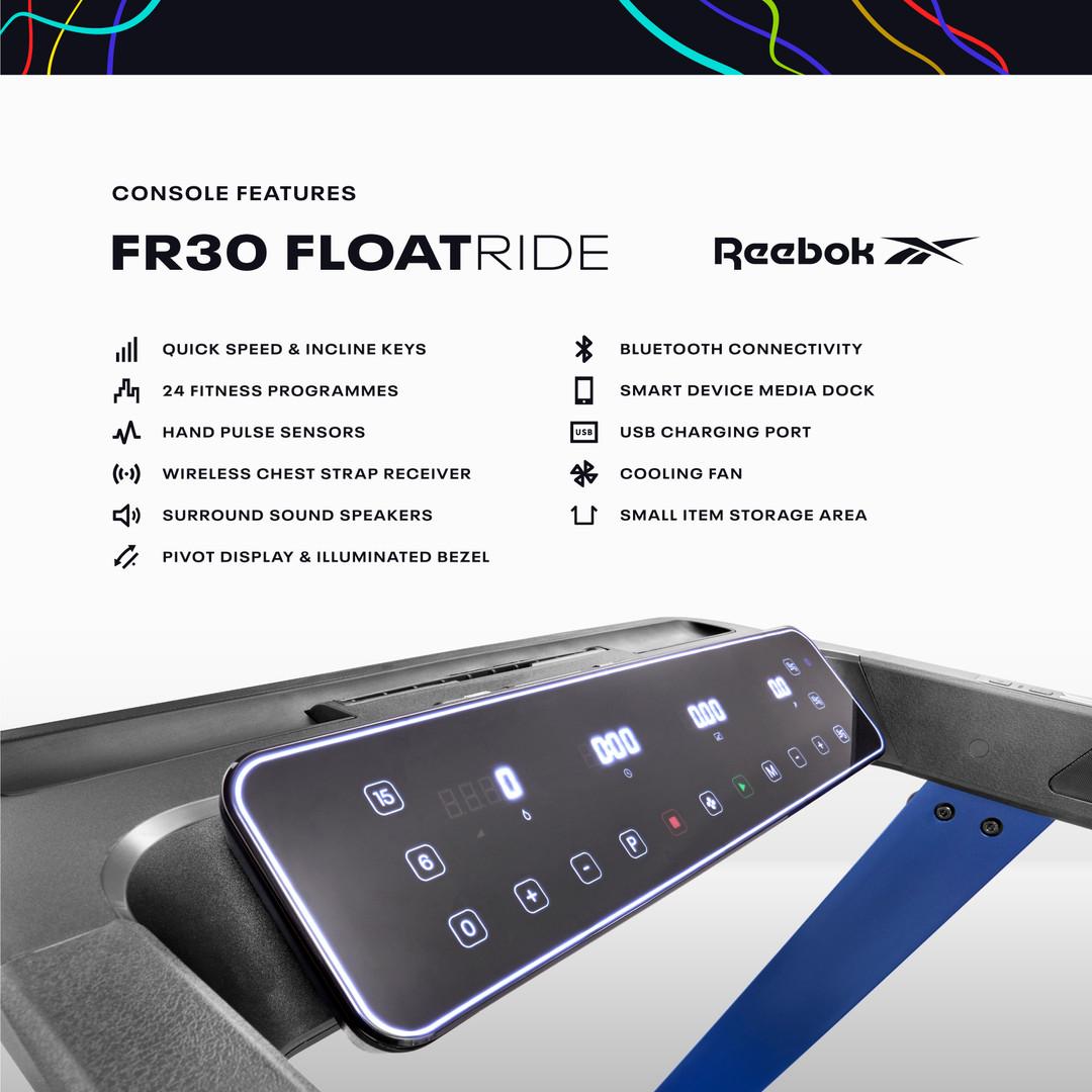 FR30 Treadmill Console
