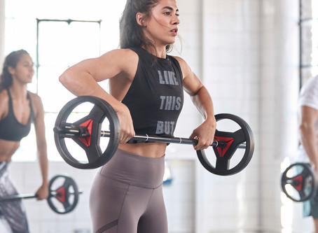 Reebok Weight Set - Every Rep Counts