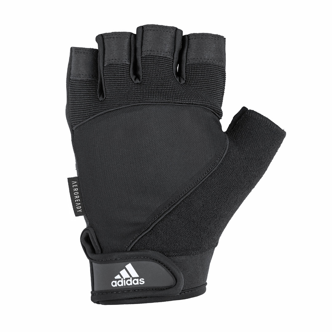 adidas black performance gloves