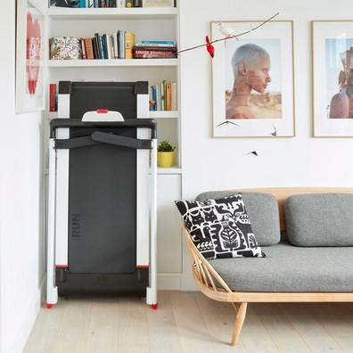Reebok iRun 4 White Folding Treadmill