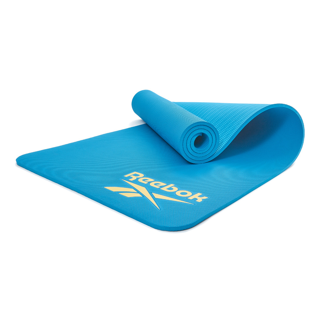 Reebok blue performance training mat