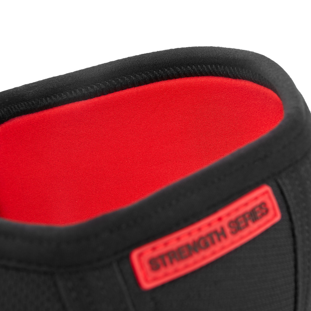 Black & Red Reebok Knee Support Sleeves