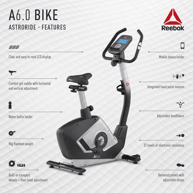 Reebok A6.0 Bike Features