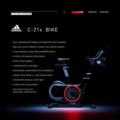 adidas C-21x Bike Overview