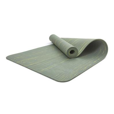 Reebok camo green & yellow 5mm yoga mat