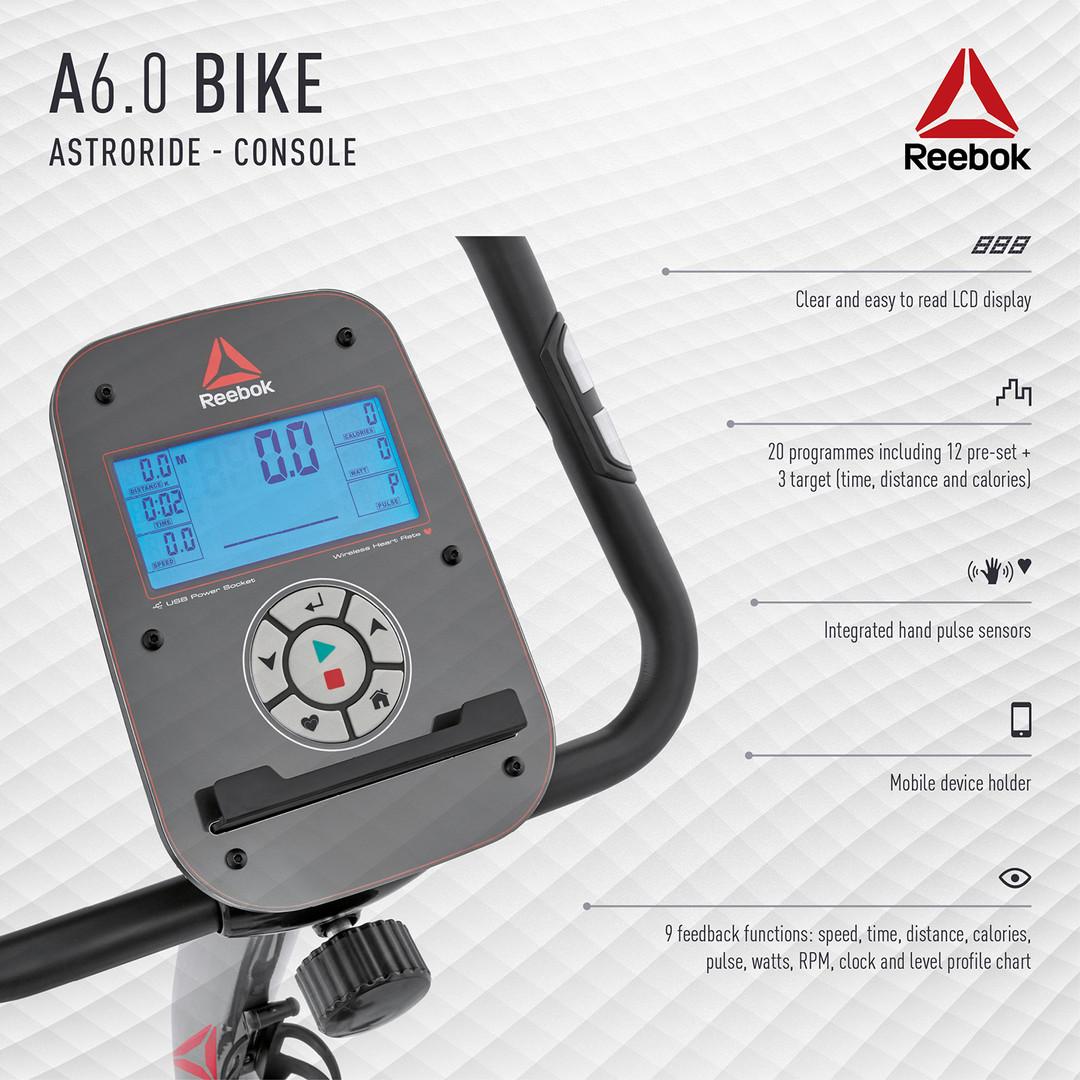 Reebok A6.0 Bike Console