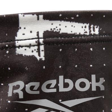 Reebok black and white neck warmer