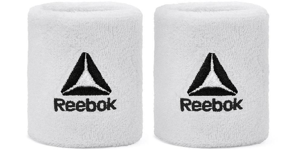 Reebok Training White Sport Wrist Sweatbands
