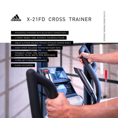adidas X-21FD Cross Trainer Console