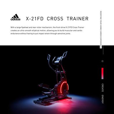 adidas X-21FD Cross Trainer Intro