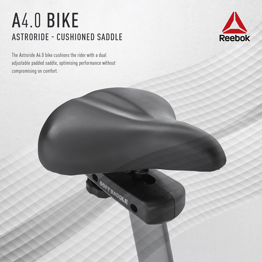 Reebok A4.0 Bike Saddle Cushioning