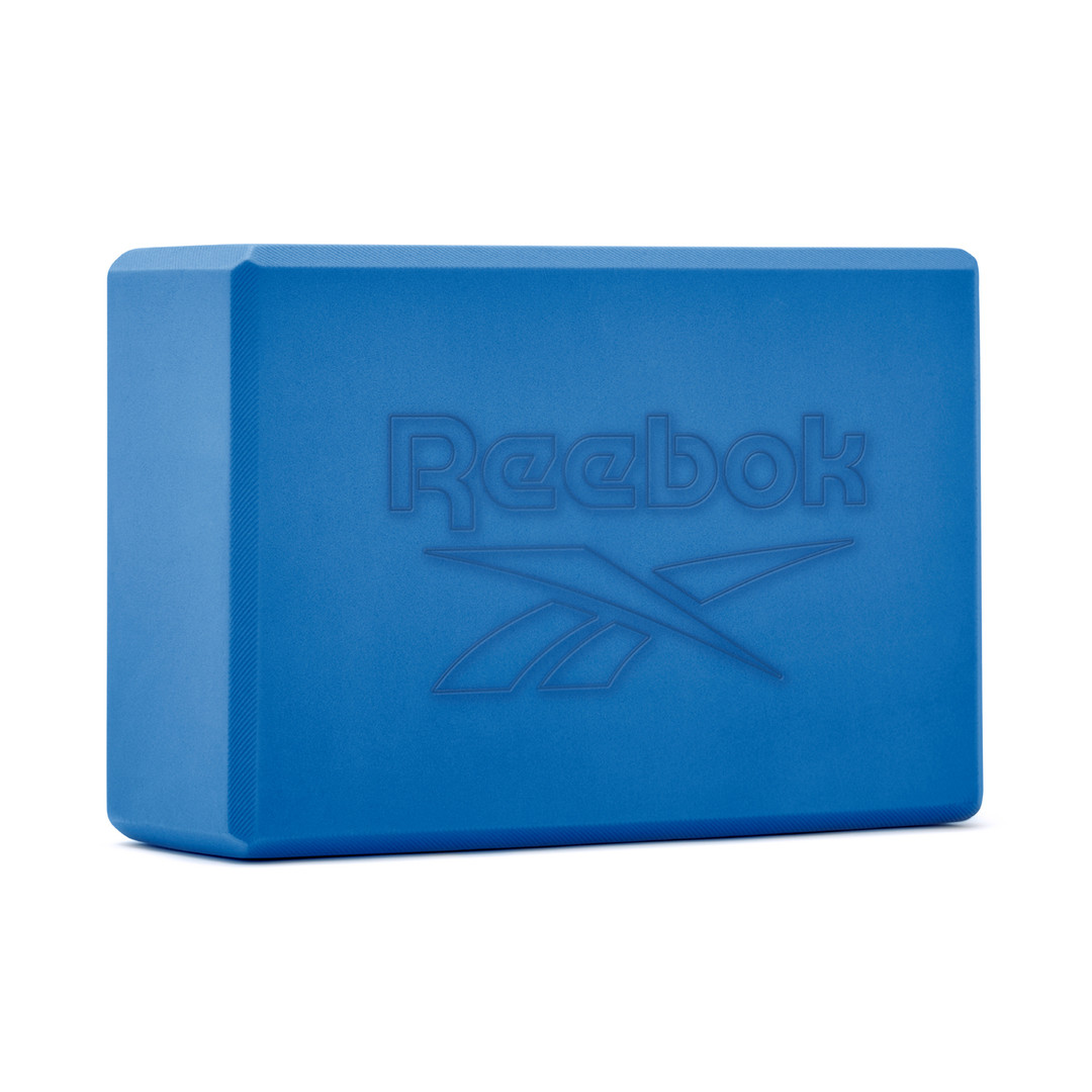 Reebok blue foam yoga block