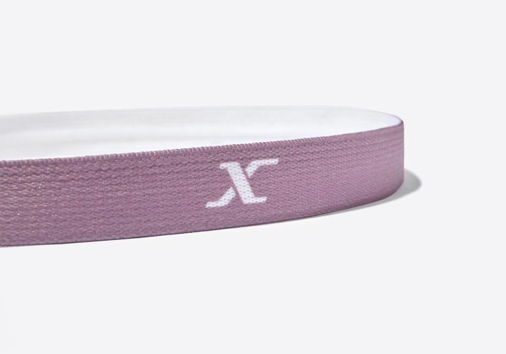 Dynamax Yoga Headbands - Black, Mauve Taupe, White