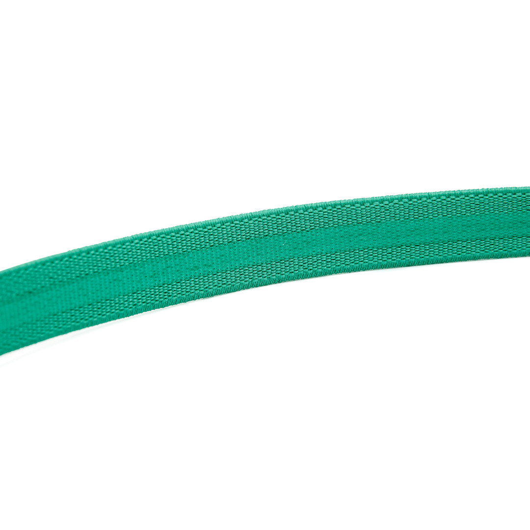 Reebok green sports hair band with silicone grip