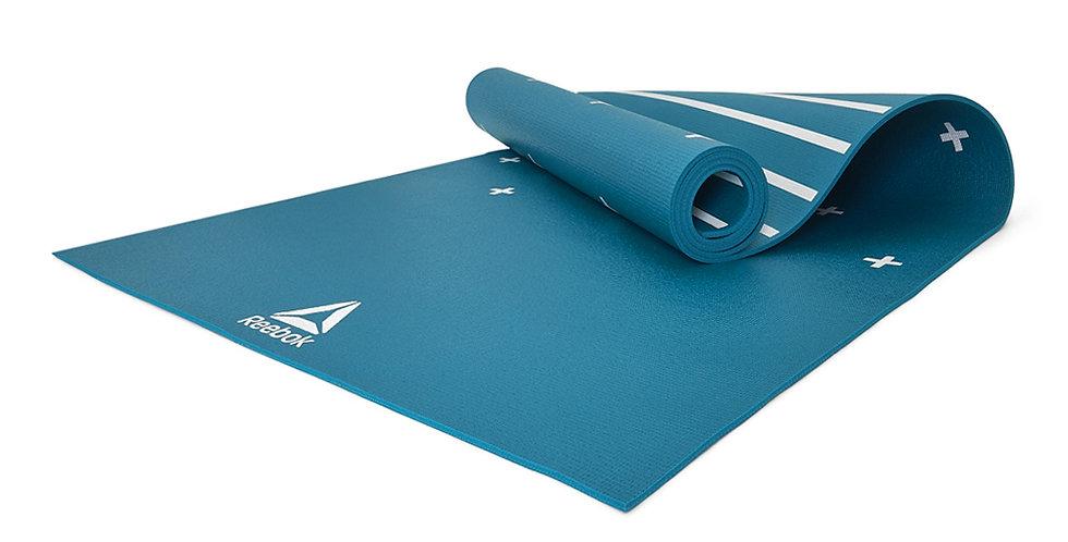 Reebok 4mm Green Stripe Yoga Mat